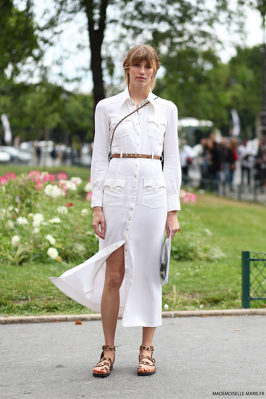 Veronika Heilbrunner at Paris fashion week Haute Couture