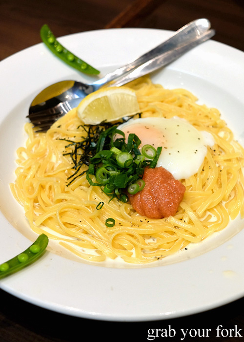 Mentaiko Pasta (Cod Roe Pasta) Recipe — Dishmaps