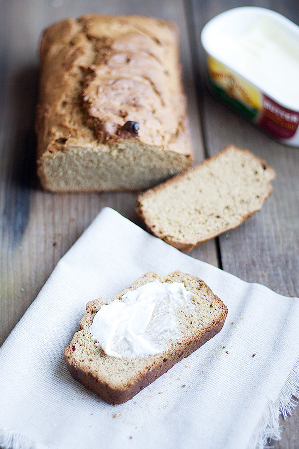 peanut butter apple bread