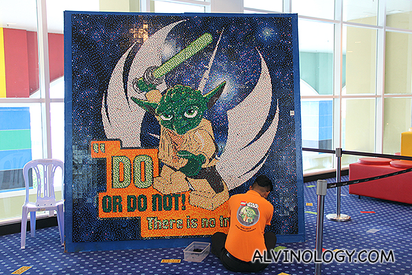 Yoda is waiting - Do or do not!