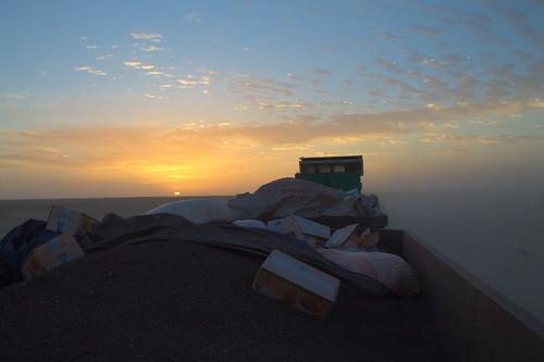 africa train desert mauritania ironoretrain