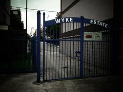 Wyke Estate gate