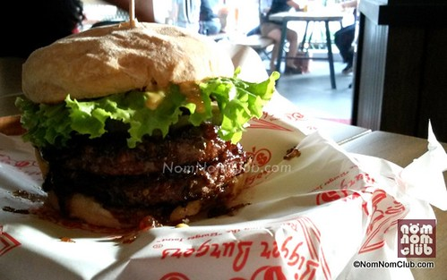 Teddy's Monster Double Burger