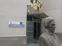 Fachada del edificio de juzgados de Arucas