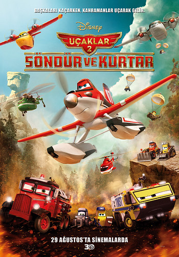 Uçaklar 2: Söndür ve Kurtar - Planes: Fire and Rescue