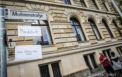 Fest zur Umbenennung der Berliner M-Strasse