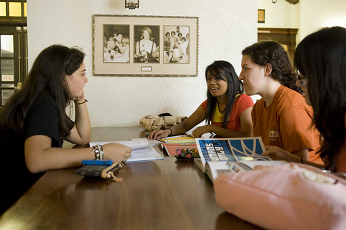 The Horns Helping Horns program provides financial and logistical assistance to students who come to the Forty Acres without family support. (Photo courtesy of UT Austin)