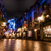 Looking Diagonally Down Diagon Alley