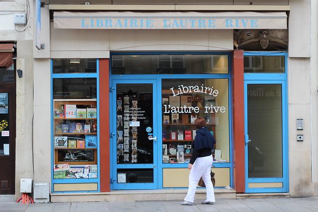 Librairie L'autre rive à Nancy