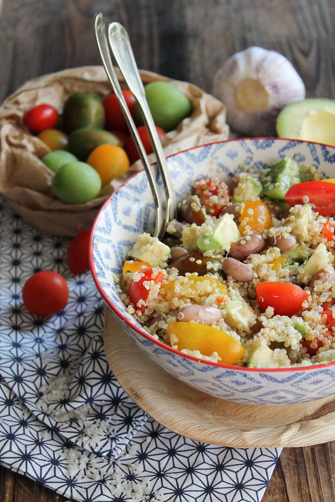 Recette de salade quinoa