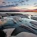 Sunrise, West Desjardins Bay, Georgian Bay by Peter Bowers