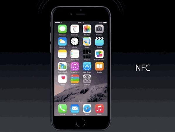 Чип NFC в iPhone 6