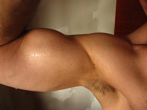 big bulging biceps