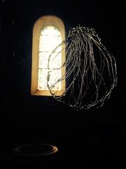 Lumière et baptistère à l'église Saint-Paul des Dax
