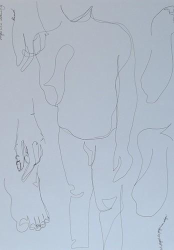 Life Drawing 16.9.14