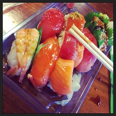 Your sushi employees are doing a good job - Yum #JoshSushiSensei