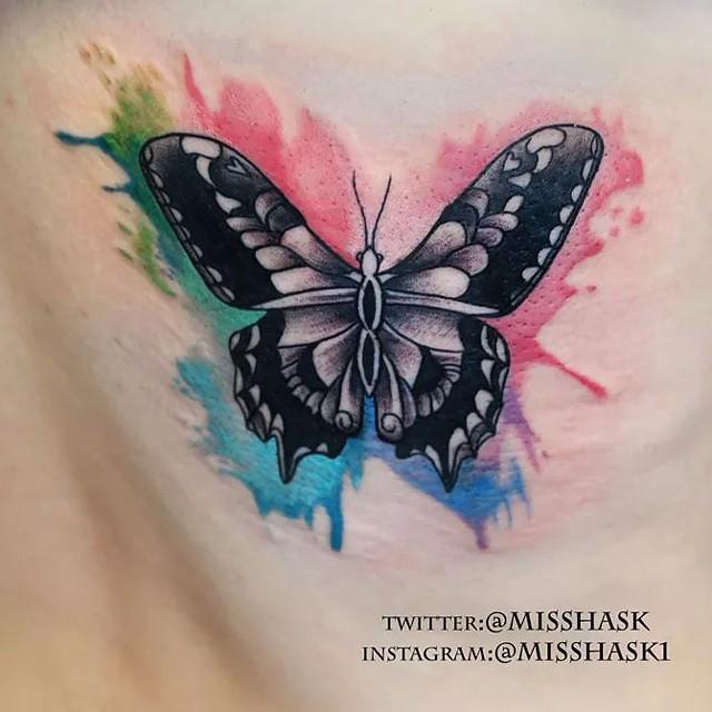 Rainbow Fairy Tattoo Designs