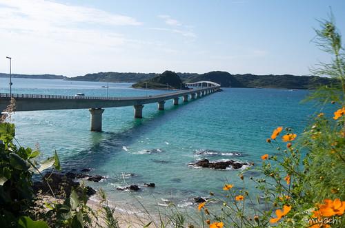【156-160日目】角島の絶景と九州で食べたラーメンで再会(島根‐山口‐福岡)