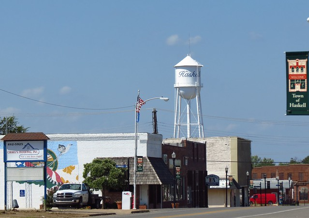 Haskell Water Tower 1