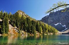 Seek the Autumn Color - Blue Lake