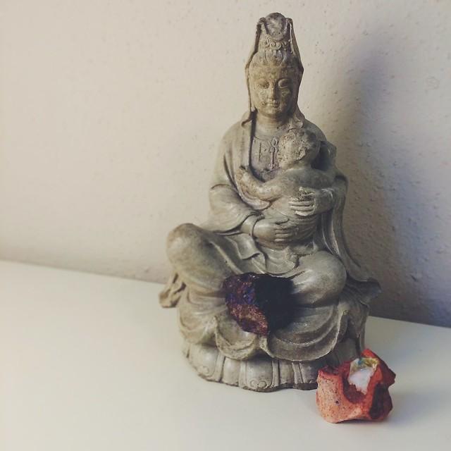 my home jizo altar