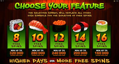 So Much Sushi Bonus Feature
