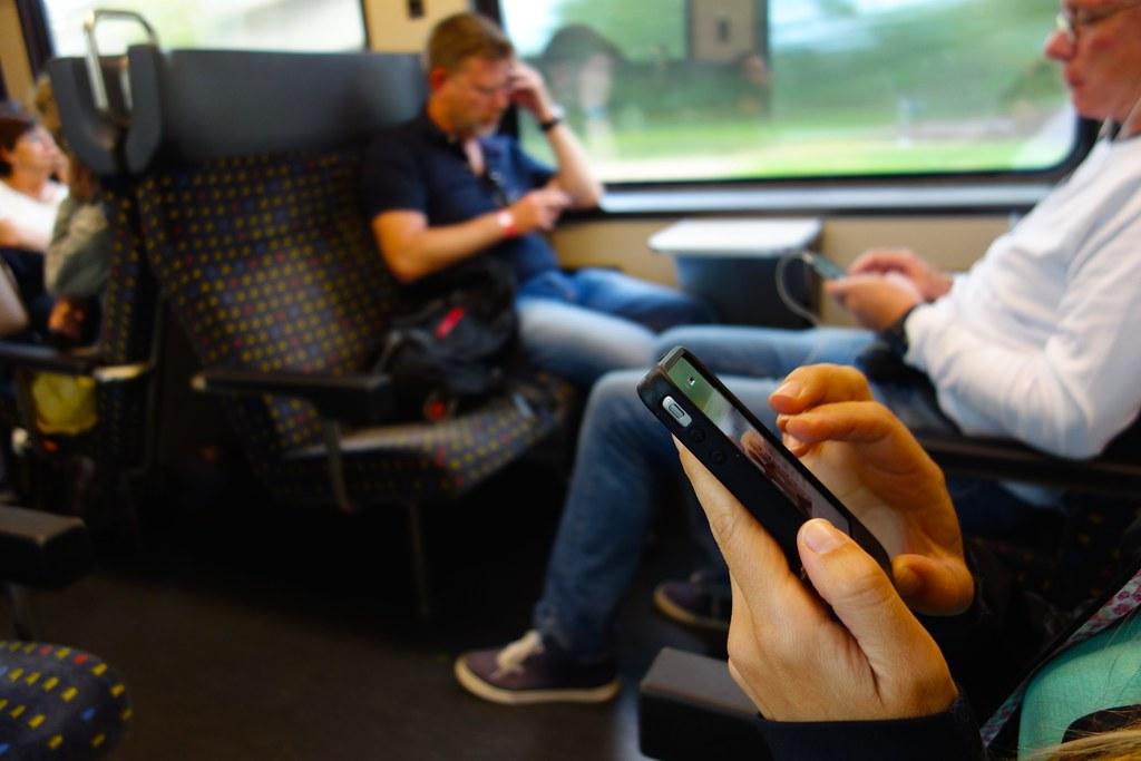 Smartphone rituals