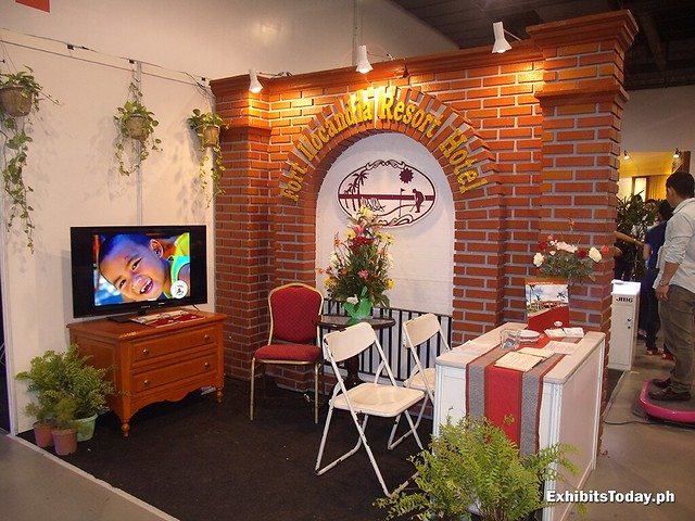 Fort Ilocandia Exhibit Stand