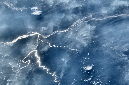 Archive: Rivers of Laos (Archive: NASA, International Space Station, 01/30/03)