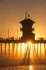 Huntington Beach Trip - Aug 2014 - Sunset
