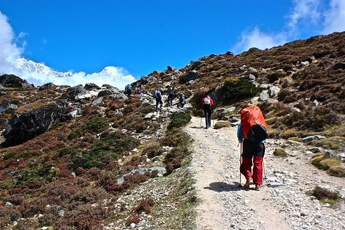 on our way to Dingboche