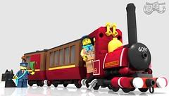Narrow Gauge Steam Engine - Lord Basil