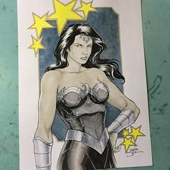 Wonder Woman #dccomics #comics - @newyorkcomiccon - Artist Alley - Table P4 -pre-show commission list - last slots available.