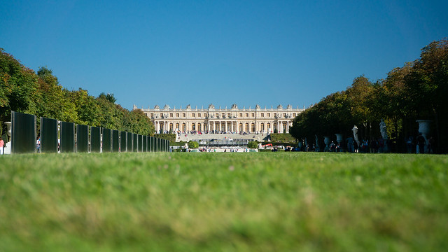 Palace of Versailles, from Gardens of Versailles