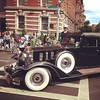 Classic car in Classic NYC parade! @africanamericandayparade