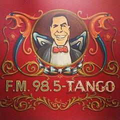 En #FMTango 98.5 de #Rosario hablando de #Pichuco @anibaltroilo
