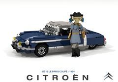 Citroen DS - ID19 Le Paris Coupe - 1958