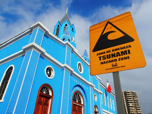 Church in Iquique - Chile
