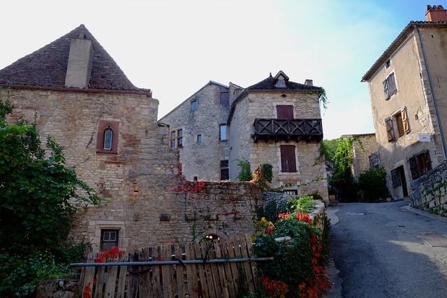 Vieilles maisons, Saint-Cirq-Lapopie
