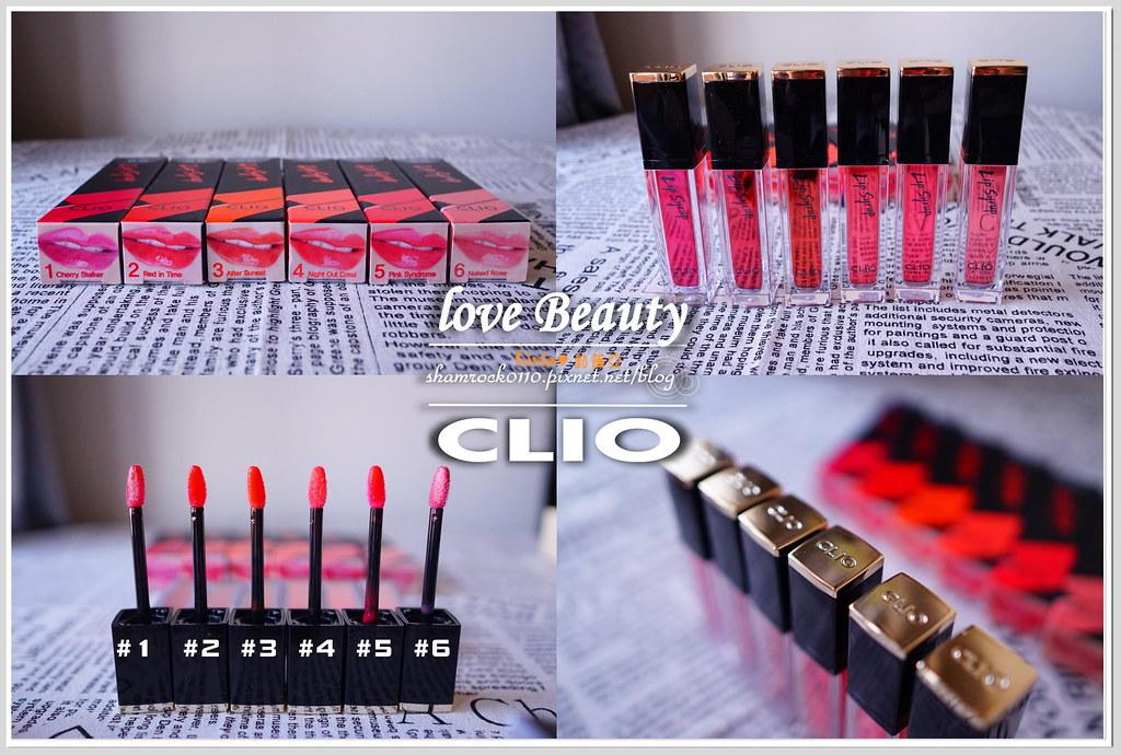 CLIO唇膏加唇釉試色-16