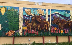 Anchorage AK ~ The Kobuk mural - HWW