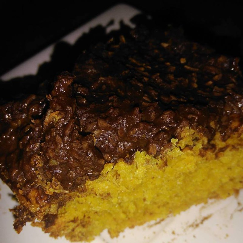 O melhor e mais fofinho bolo de cenoura sem glúten e sem lactose