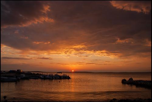 zadarskažupanija croatia sunset chorwacja proboj landscape cloud sky
