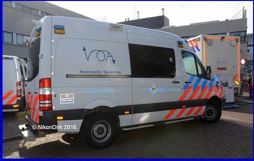 Dutch Police VOA Amsterdam.