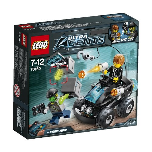 LEGO Ultra Agents 70160 Front