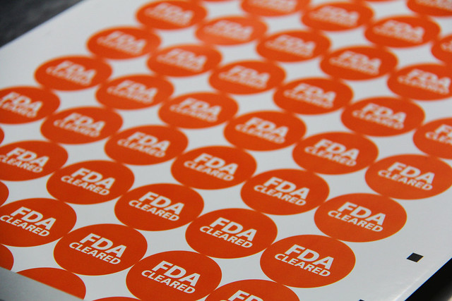 FDA stickers CGMP guidelines