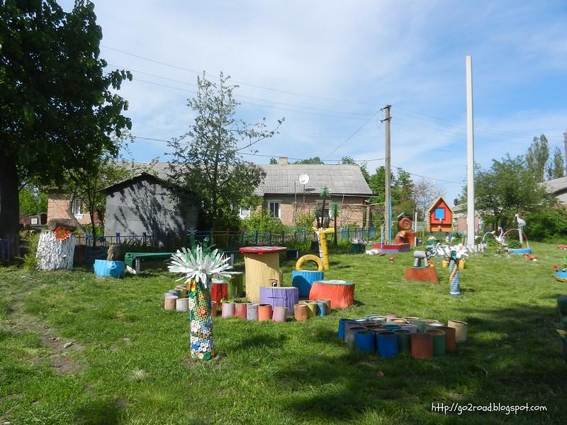 Винницкая область, детская площадка
