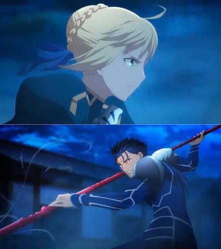 140512(1) - 繼「Archer vs. Lancer」後、新動畫《Fate/stay night》公開第三支預告、對戰的是...!