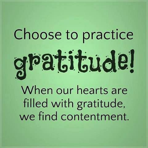 saying - gratitude