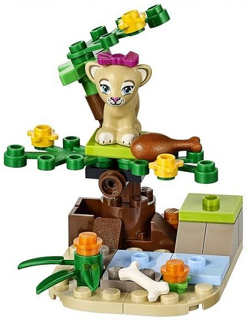 LEGO Friends Lion cub in the Savanna 41048